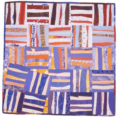 Crooked Rail Fence Quilt By Ann Stamm Merrell From Living